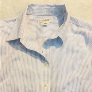 Women's banana republic dress shirt S 6
